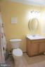Basement full bath - 10212 NAPOLEON ST, FREDERICKSBURG