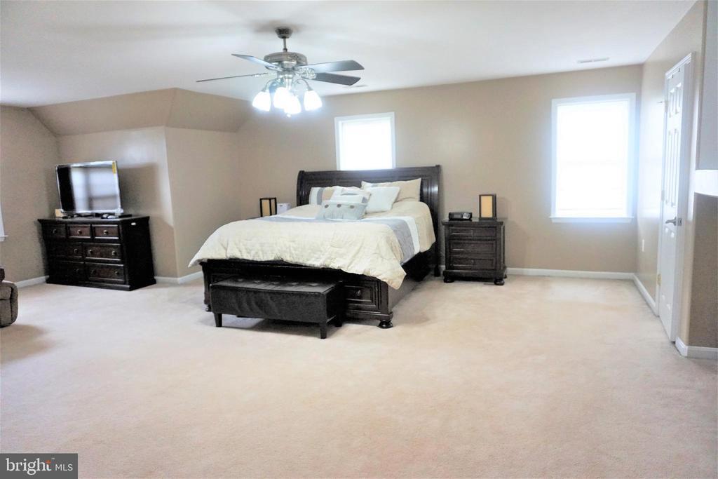 Huge master bedroom - 10212 NAPOLEON ST, FREDERICKSBURG