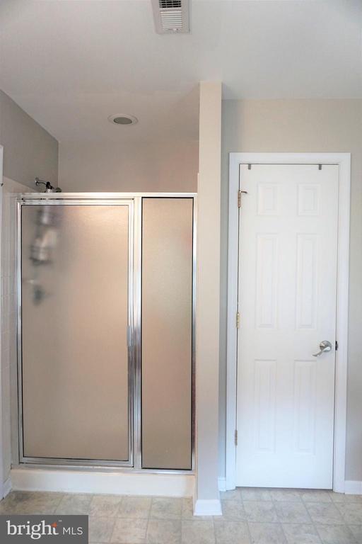 Master bath shower - 10212 NAPOLEON ST, FREDERICKSBURG