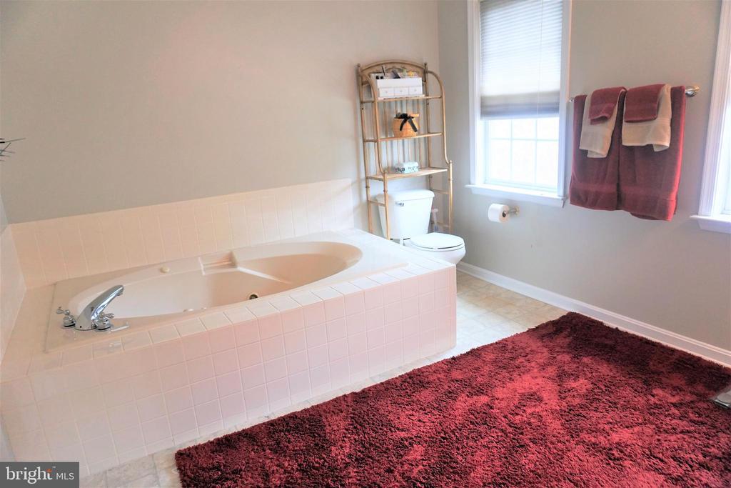 Master bath soaking tub - 10212 NAPOLEON ST, FREDERICKSBURG