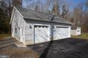 3  car detached garage - 8202 WATERFORD DR, SPOTSYLVANIA