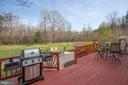 Spacious deck - 8202 WATERFORD DR, SPOTSYLVANIA