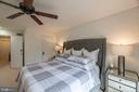 Master bedroom - 1604 WASHINGTON PLZ, RESTON