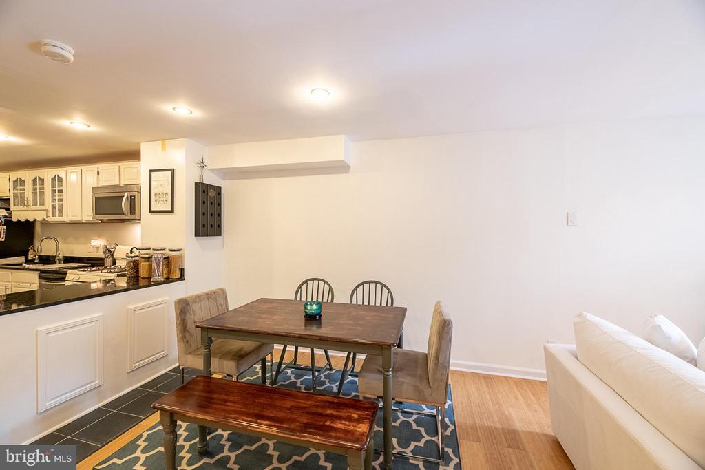 Dining room - 1604 WASHINGTON PLZ, RESTON