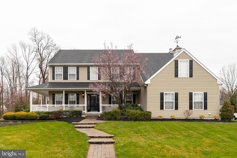 Частный односемейный дом для того Продажа на 1846 FERNWOOD Drive West Deptford, Нью-Джерси 08096 Соединенные Штаты