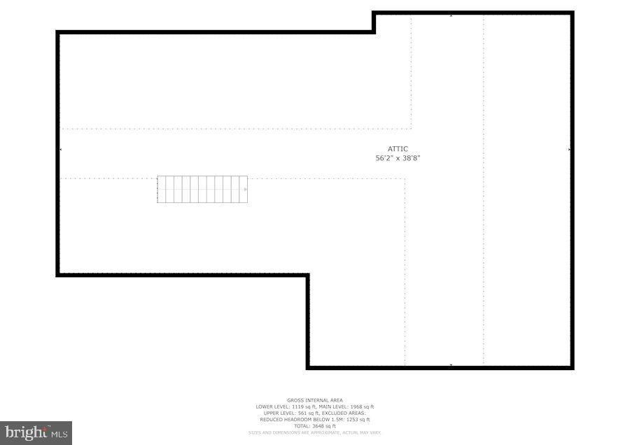 Upper Level Floor Plan - 7116 ALASKA AVE NW, WASHINGTON