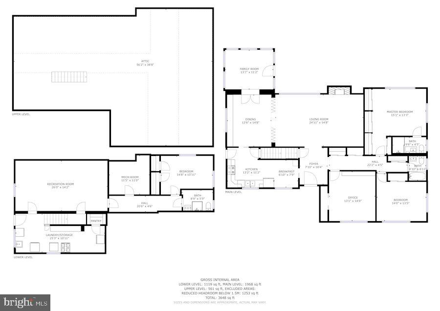 House Floor Plan - 7116 ALASKA AVE NW, WASHINGTON