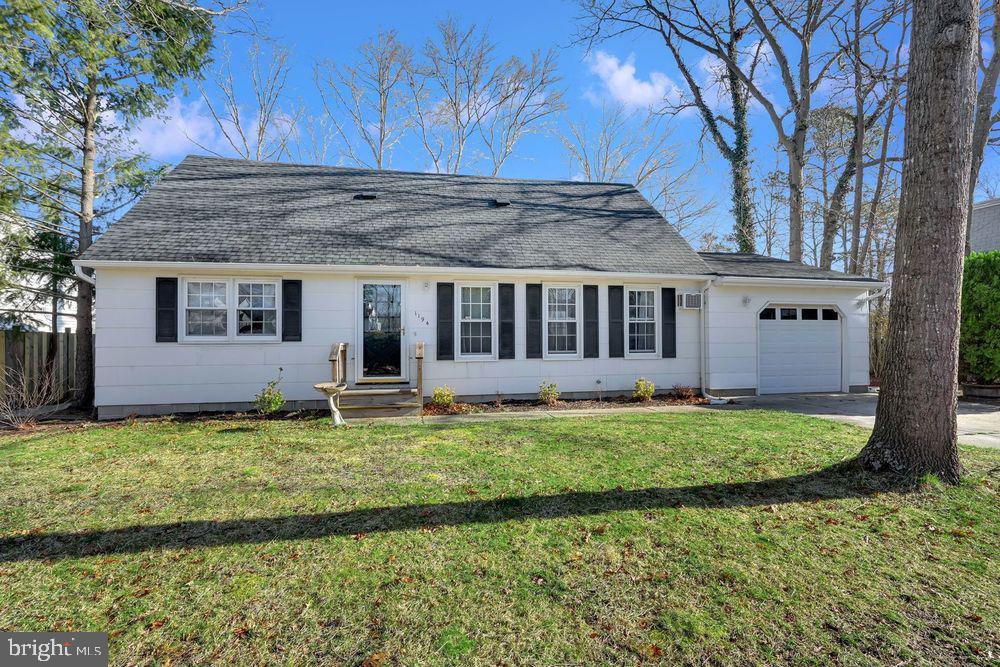 Maison unifamiliale pour l Vente à 1194 GALLEY Manahawkin, New Jersey 08050 États-Unis