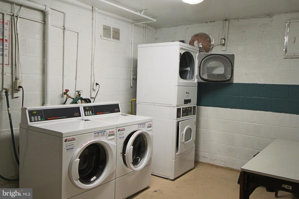 Laundry Rooms in each building at Park Spring. - 5091 7TH RD S #102, ARLINGTON