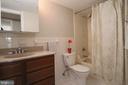 Full Bath in Hallway. - 5091 7TH RD S #102, ARLINGTON