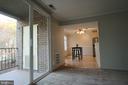 Balcony Doors let the sunshine in. - 5091 7TH RD S #102, ARLINGTON