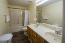 Upper Level Bathroom - 3512 CARLYLE CT, FREDERICKSBURG