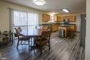 Eat-in Kitchen - 3512 CARLYLE CT, FREDERICKSBURG