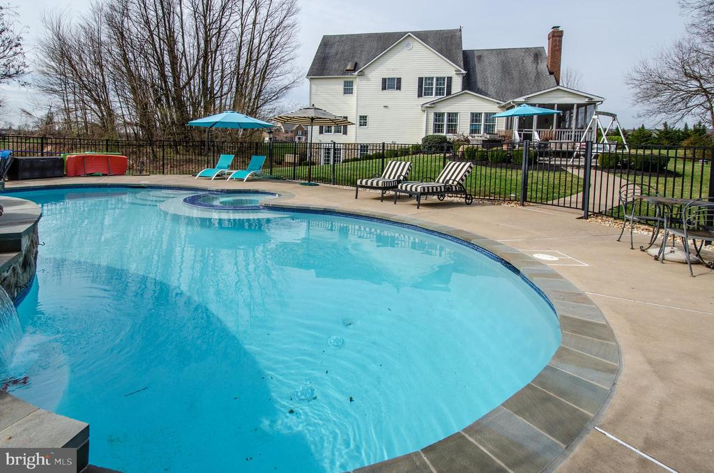 Pool & Spa were extensively renovated 2018 - 14974 MERRITT FARM LN, LEESBURG