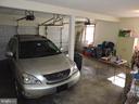 Oversized two car garage allows even more storage - 803 HORIZON WAY, MARTINSBURG