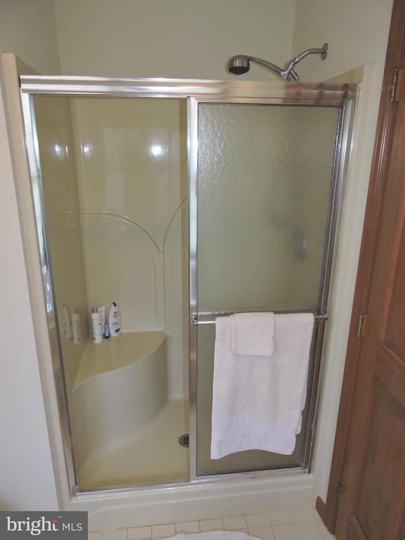 Walk-in stall shower - 803 HORIZON WAY, MARTINSBURG