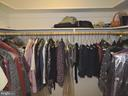 Huge walk-in closet tops off the master suite - 803 HORIZON WAY, MARTINSBURG