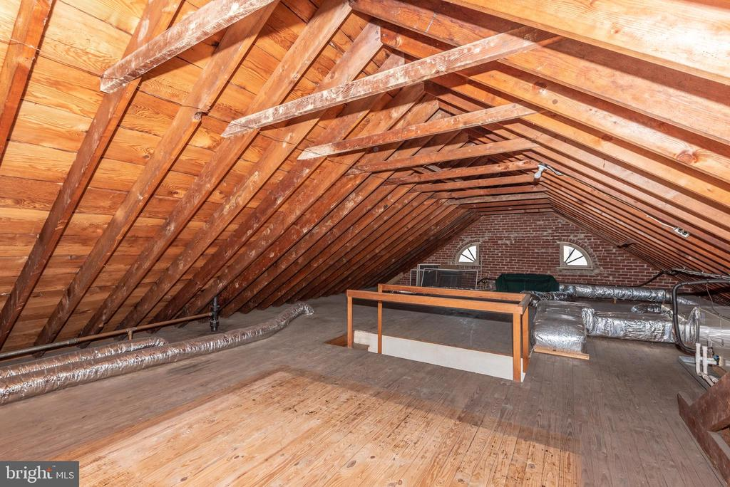 Full attic space~ accessed from 2nd floor hall.~ - 202 ROCKWELL TER, FREDERICK