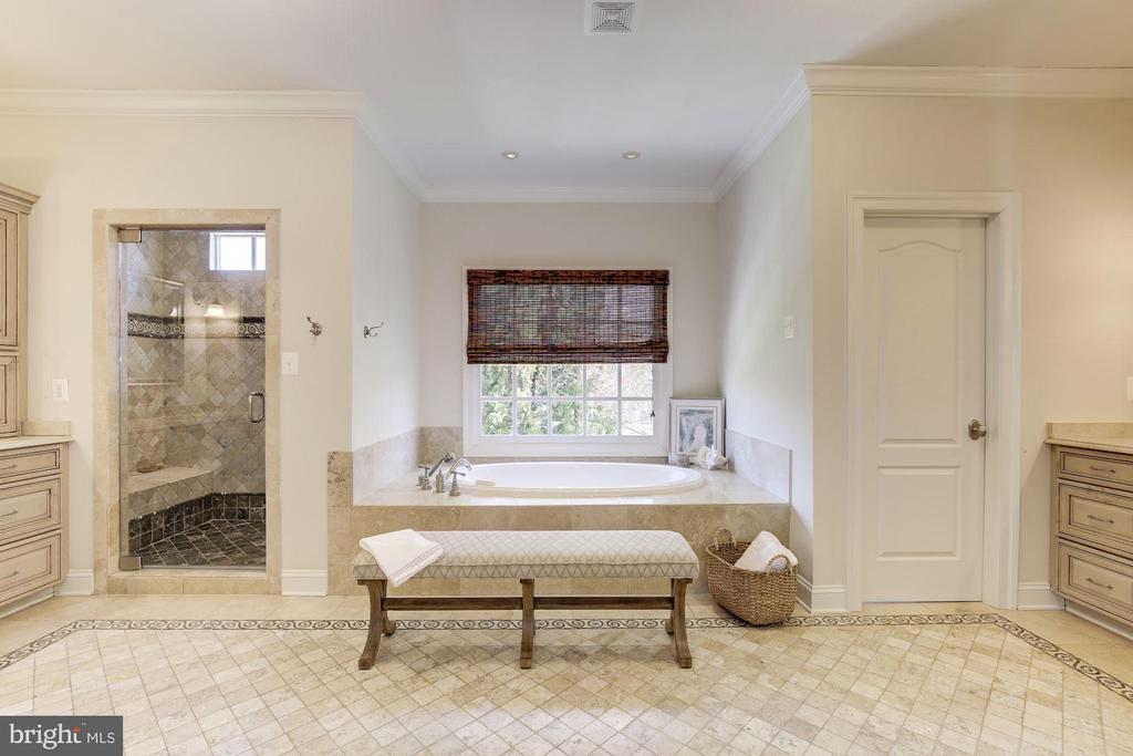 Spa-like Master Bathroom - 9720 ARNON CHAPEL RD, GREAT FALLS