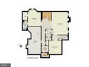 Floor Plan - Lower Level - 9720 ARNON CHAPEL RD, GREAT FALLS