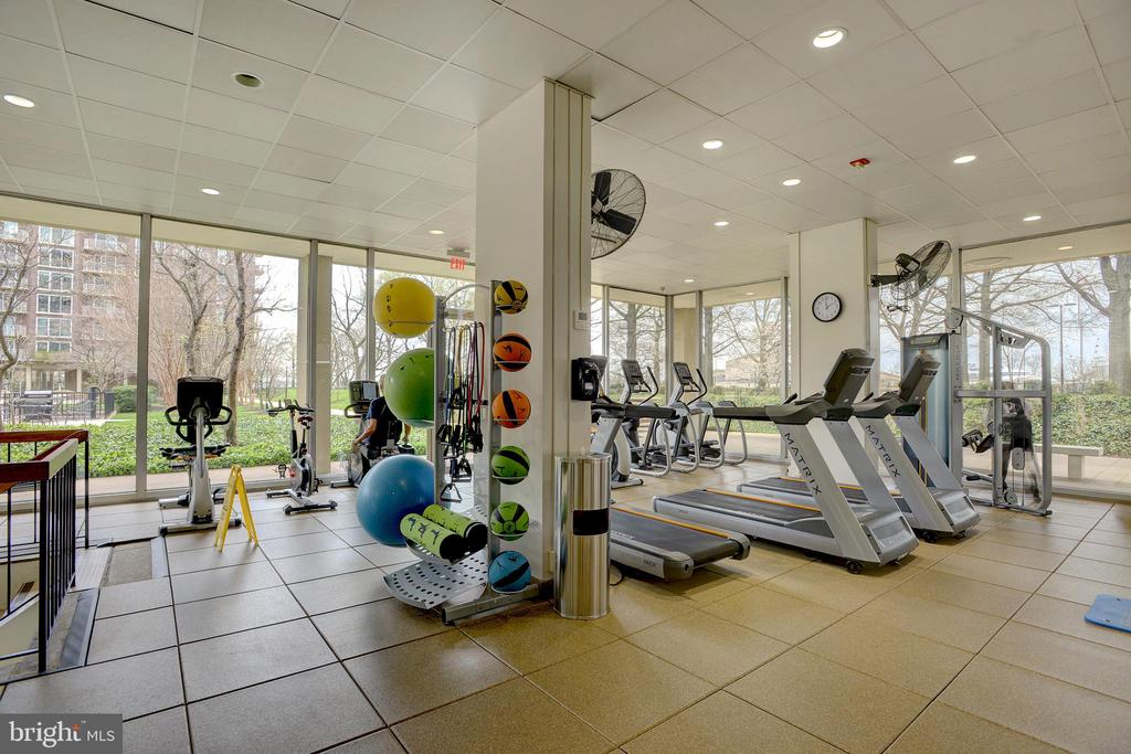 Fitness center - another convenient amenity - 520 N ST SW #S621, WASHINGTON