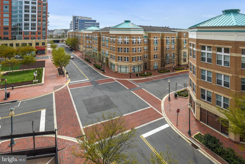 Enjoy people watching & city life below! - 11990 MARKET ST #413, RESTON