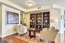 Spacious living room for sitting back & unwinding - 11990 MARKET ST #413, RESTON