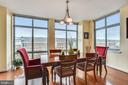 Open and spacious dining area for entertaining - 11990 MARKET ST #413, RESTON