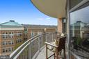 Panoramic views from balcony - 11990 MARKET ST #413, RESTON