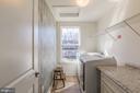 Bedroom level laundry room - 17040 TAKEAWAY LN, DUMFRIES