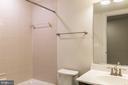 Full bath in basement - 17040 TAKEAWAY LN, DUMFRIES