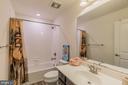 Upstairs full bath - 17040 TAKEAWAY LN, DUMFRIES