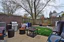 Rear patio / yard - 2415 9TH ST S, ARLINGTON