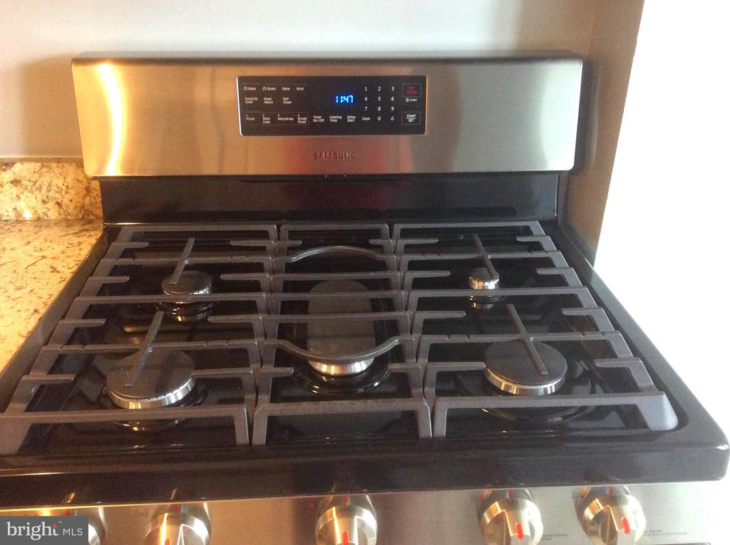 5 Burner Gas Range - 632 FRANKLIN ST NE, WASHINGTON