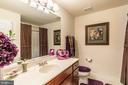 Upper level full size bath w/ another linen closet - 4157 AGENCY LOOP, TRIANGLE