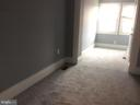 Bedroom 3 with new carpeting and room extension. - 632 FRANKLIN ST NE, WASHINGTON