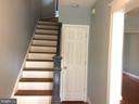Newly created Foyer with Coat Closet. - 632 FRANKLIN ST NE, WASHINGTON