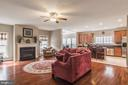 Large, open family room right off the kitchen - 4157 AGENCY LOOP, TRIANGLE