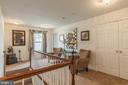 Enormous double linen closet in main hall upstairs - 4157 AGENCY LOOP, TRIANGLE