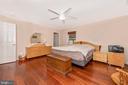 Main level master bedroom. - 13712 PRYOR RD, THURMONT
