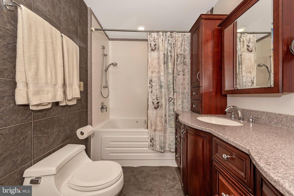 Master bathroom with over sized jetted jacuzzi tub - 13712 PRYOR RD, THURMONT