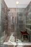 Main level 2nd full bath with sauna shower. - 13712 PRYOR RD, THURMONT