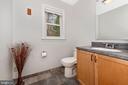 Upper level full bathroom. - 13712 PRYOR RD, THURMONT