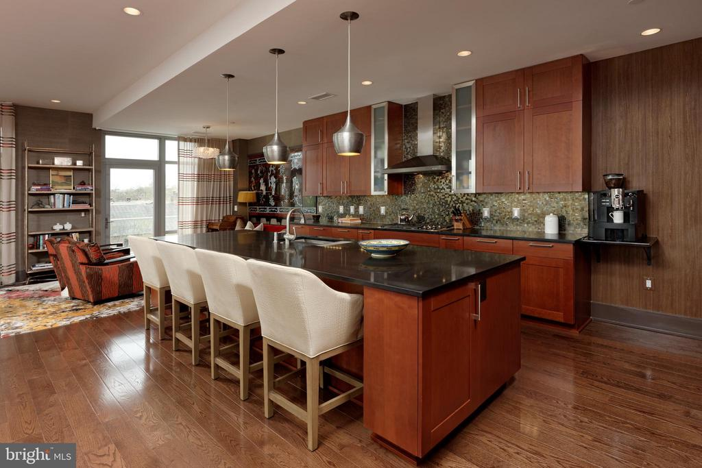 A chef's kitchen w/ integrated appliance cabinetry - 601 N FAIRFAX ST #316, ALEXANDRIA