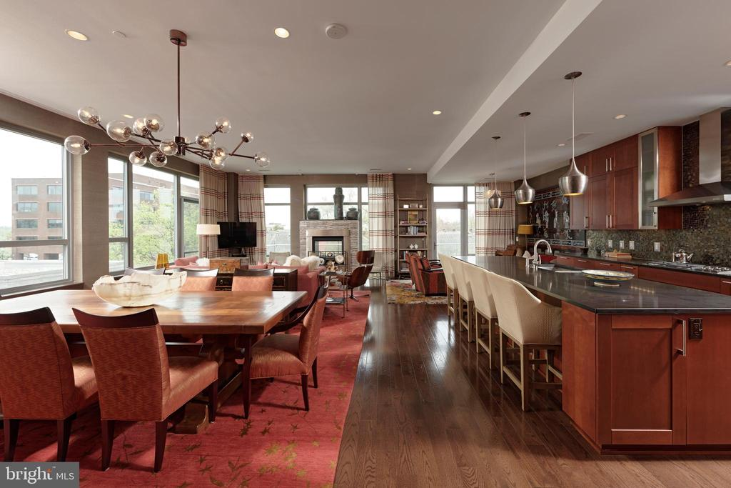 Dramatic views and living with open floor plan - 601 N FAIRFAX ST #316, ALEXANDRIA