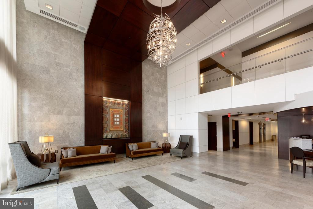 24 hour security from the lobby at The Oronoco - 601 N FAIRFAX ST #316, ALEXANDRIA