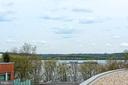 Vistas of the PotomacRiver from 1 of the terraces - 601 N FAIRFAX ST #316, ALEXANDRIA