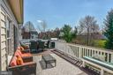 Large Custom Deck / Backyard - 43359 LA BELLE PL, ASHBURN