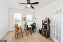Large Study / Office w/ Glass French Doors - 24436 PERMIAN CIR, ALDIE