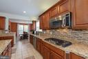 Downdraft 5-burner cooktop and built-in microwave - 24436 PERMIAN CIR, ALDIE
